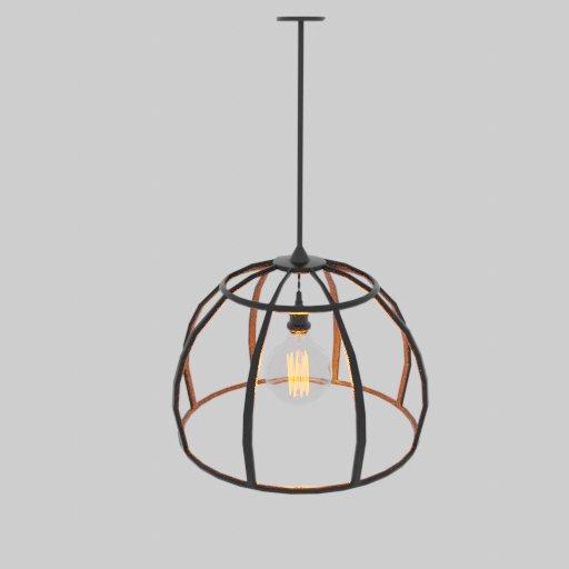 Thumbnail: Sphere ceiling lamp decor
