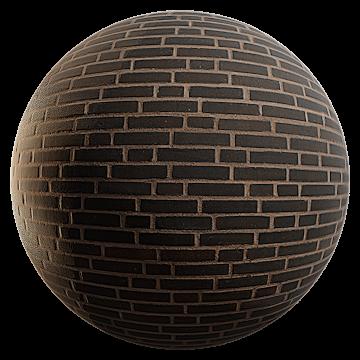 Thumbnail: Rough Dark Brick Wall