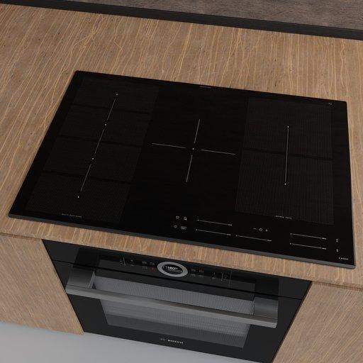 Thumbnail: IKEA BLIXTSNABB induction hob