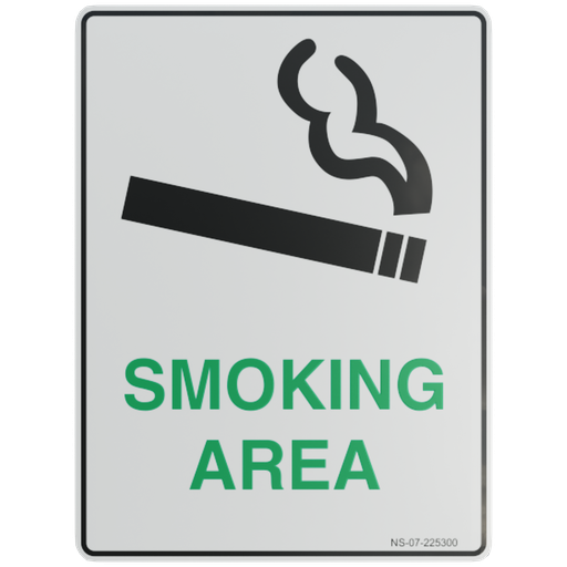 Thumbnail: Sign – Smoking Area.