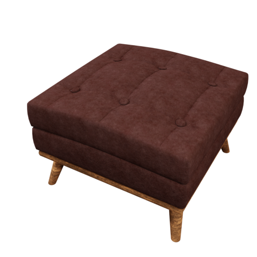 Thumbnail: Leather Ottoman