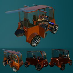 Thumbnail: Concept styled single seat commuter