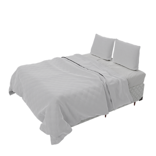 Queen bedspread and box bed