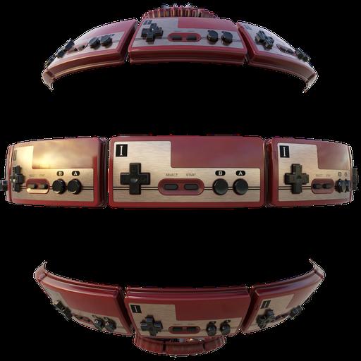 Thumbnail: Famicom Controller P1