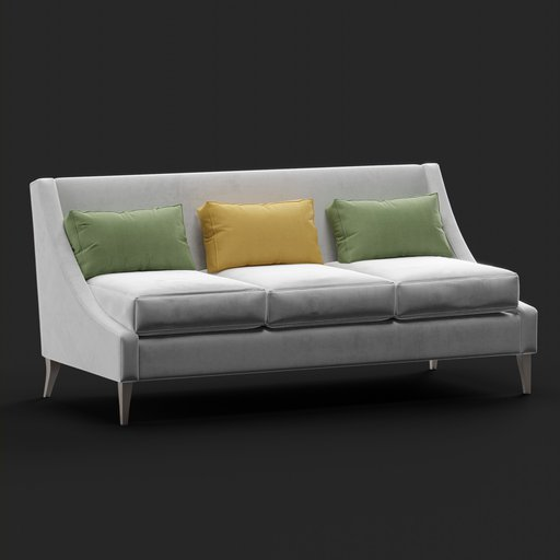 Thumbnail: Ikea 3 Seat Sofa