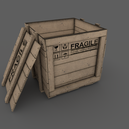 Thumbnail: Wooden Box 01 Open Version
