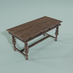 Thumbnail: Old Writting Table