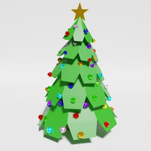 Thumbnail: Low Poly Christmas Tree
