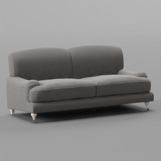 Thumbnail: Fabric rough Sofa