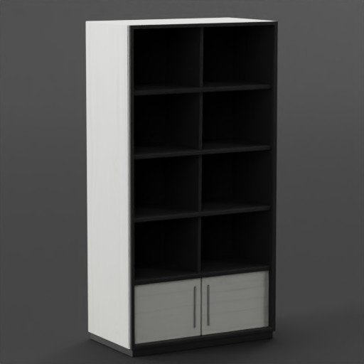 Closet open cabinets Nordic W&N