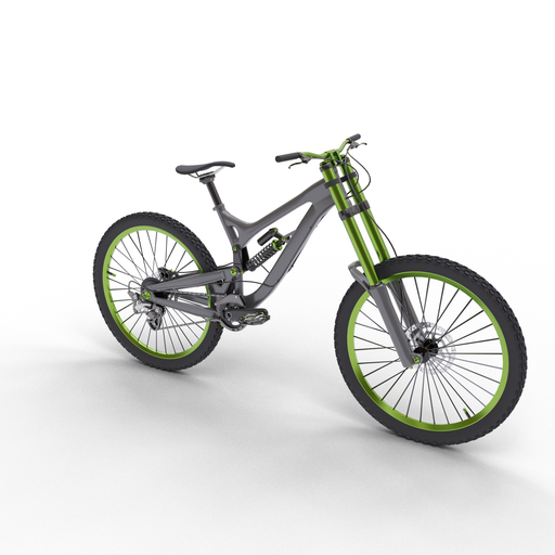 Downhill bicycle