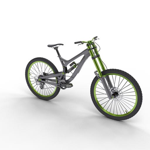 Thumbnail: Downhill bicycle