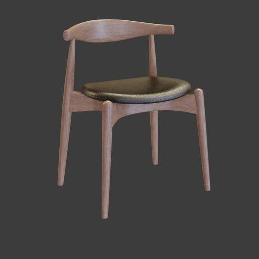 Thumbnail: CH20 Elbow chair
