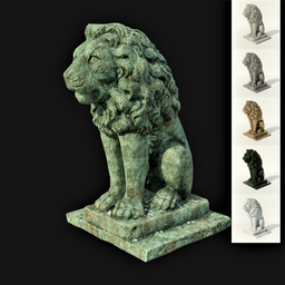 Thumbnail: Lion sculpture