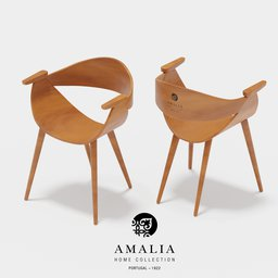 Thumbnail: AVE dinning chair (AMALIA)