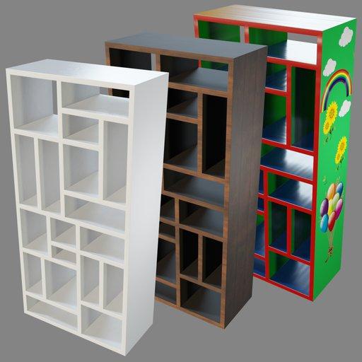 Thumbnail: Bookcase 01