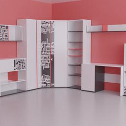 Thumbnail: Kids room furniture set