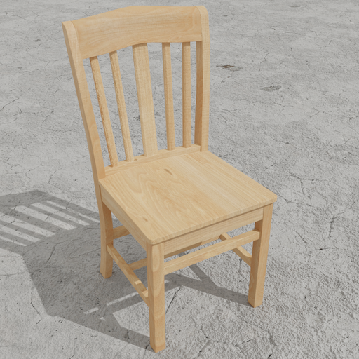 Thumbnail: Wooden Dining Chair