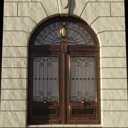 Thumbnail: Art Nouveau Gate