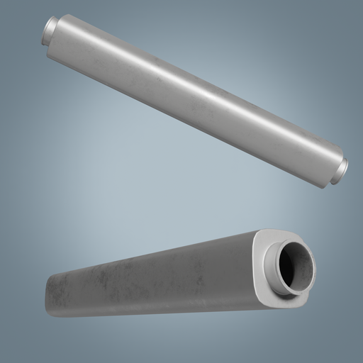 Thumbnail: Rounded square steel tube PL