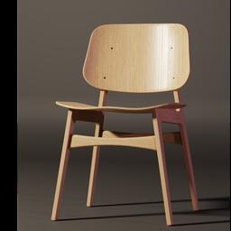 Thumbnail: Stylized Søborg Chair