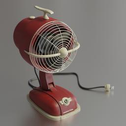 Thumbnail: Fan in a retro style