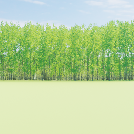 Thumbnail: Greenleaf Treeline  Backdrop 017