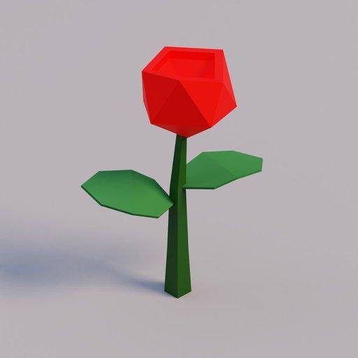 Thumbnail: Red Flower