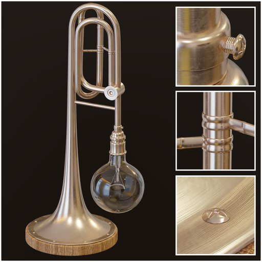 Thumbnail: Table Lamp Trumpet