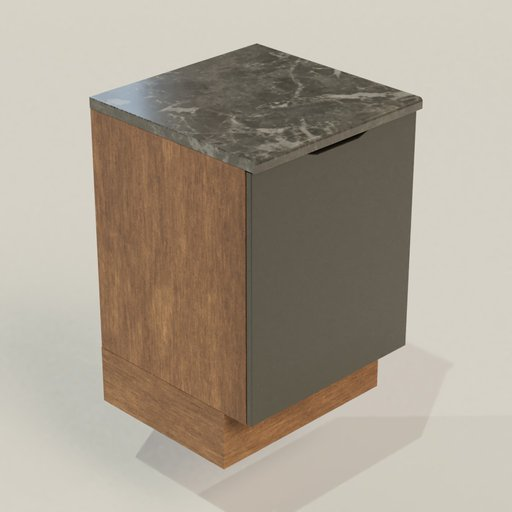 Thumbnail: Kitchen Collection 1 Cabinet Under Type 1