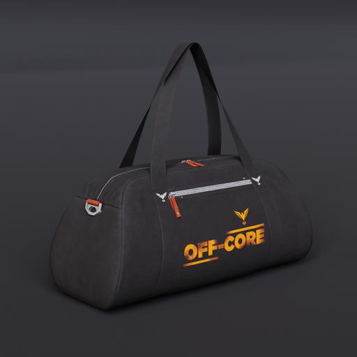 Black Gym Duffelbag