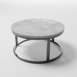 Thumbnail: Table - round, small
