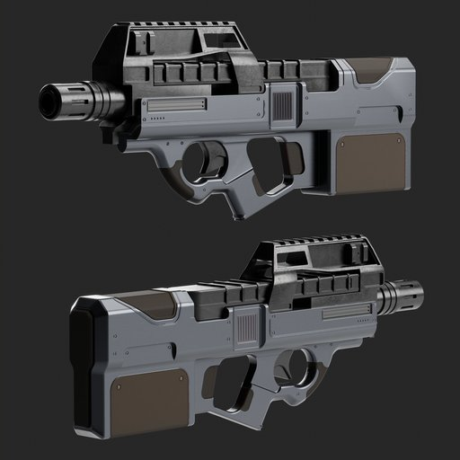 Thumbnail: P90 submachine gun