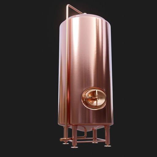 Thumbnail: Copper Beer Tank #01