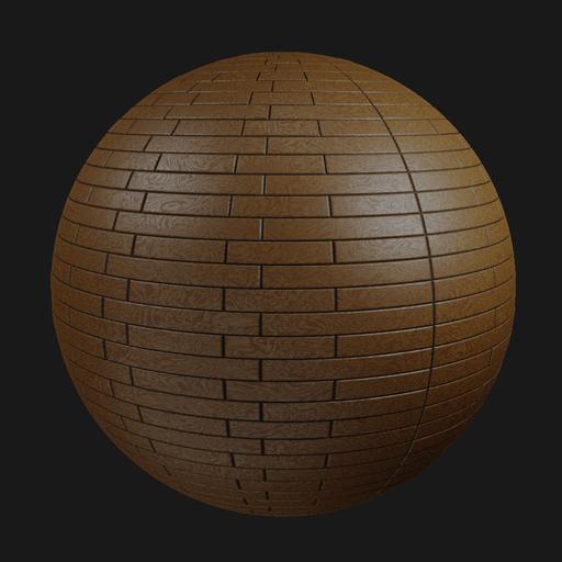 Thumbnail: Wooden floor 003 (Kit)