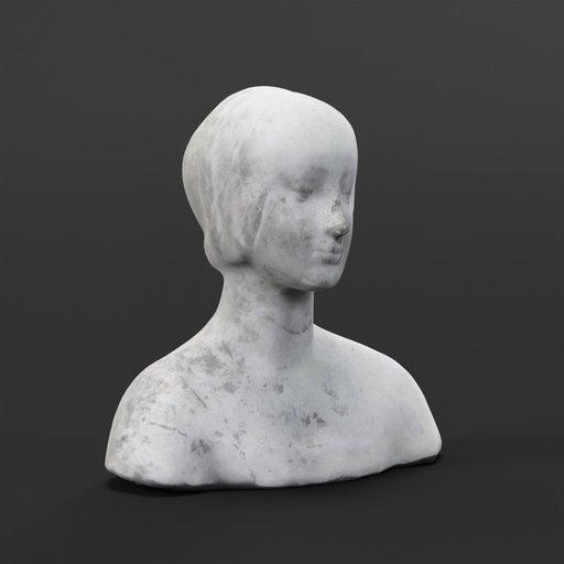 Thumbnail: Bust of a Woman