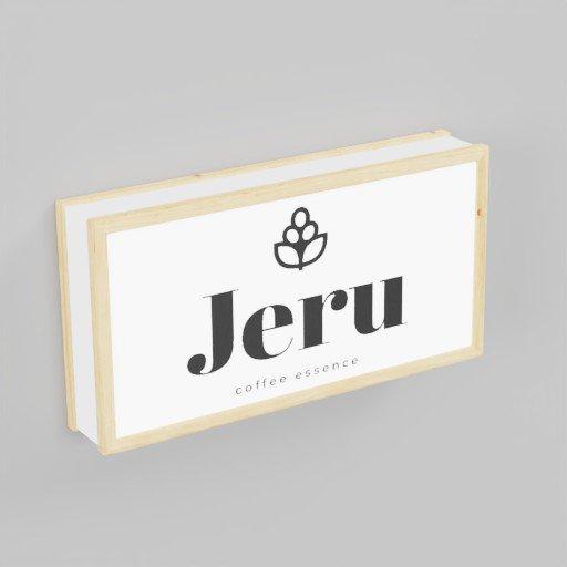 Thumbnail: Jeru Wood Sign Board 60x30x11