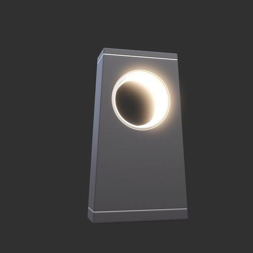 Thumbnail: Modern Street Lamp (short) #01