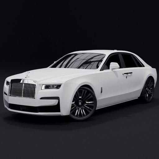 Thumbnail: Rolls Royce Ghost 2021(final model)