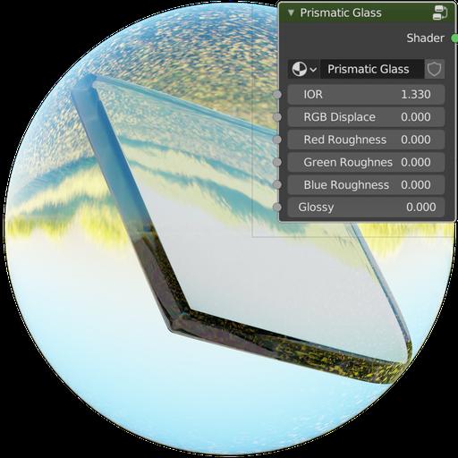 Thumbnail: Prismatic Glass Shader