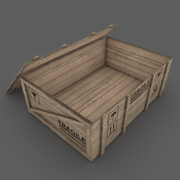 Thumbnail: Wooden Box 03 Open Version