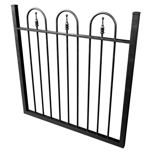 Thumbnail: Cast Iron Fence 02