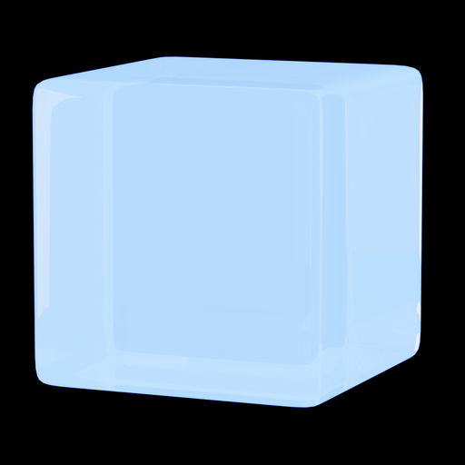 Thumbnail: Glowing glass blue