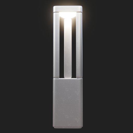 Thumbnail: Modern Street Lamp (short) #02