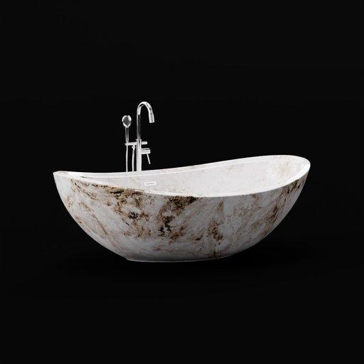 Thumbnail: Marble Bathtub