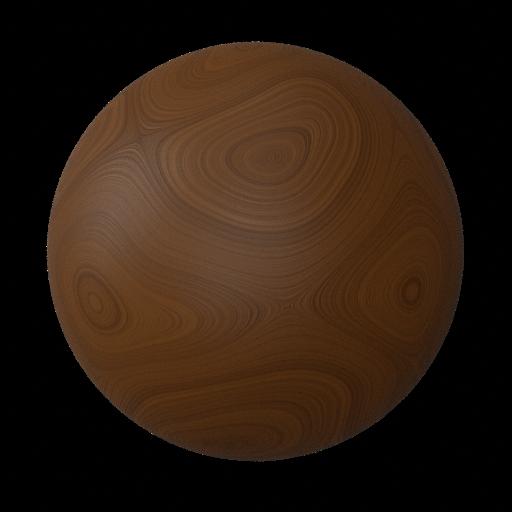 Thumbnail: Procedural Polished Mahogany Wood