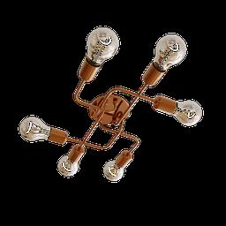 Thumbnail: Charlot Spider Ceiling Light