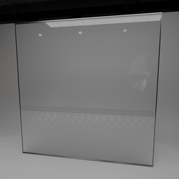 Thumbnail: Glass wall panel interior