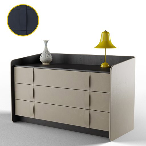 Thumbnail: Gentleman Chest of Drawers