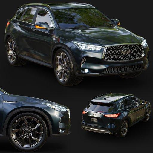 Infinity Q50x Car